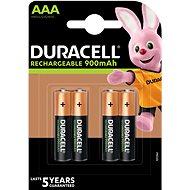 Duracell StayCharged AAA - 900 mAh 4 Stück - Akku