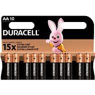Duracell Batterie AA 10 Stück - Einwegbatterie