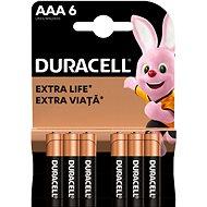 Duracell Basic AAA 6 Stück - Einwegbatterie