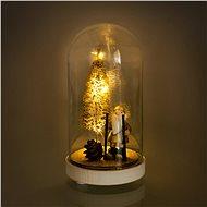 RETLUX RXL 316 Weihnachts-Glaskuppel Glasglocke klein 3 LED WW - Weihnachtsbeleuchtung