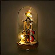 RETLUX RXL 317 Weihnachts-Glaskuppel Glasglocke klein 3 LED WW - Weihnachtsbeleuchtung