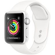 Refurbished Apple Watch Series 5 44 mm Silbernes Aluminium mit weißem Sportarmband - Smartwatch