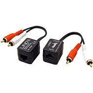 OEM Audio Extender über TP, 2x Cinch, 100m - Extender
