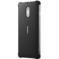 Nokia Carbon Fibre Design Case CC-802 for Nokia 6 Onyx Black - Schutzhülle