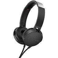 Sony MDR-XB550AP Schwarz - Kopfhörer