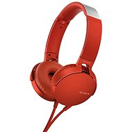 Sony MDR-XB550AP Rot - Kopfhörer