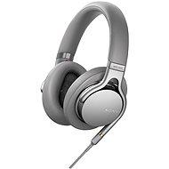 Sony Hi-Res MDR-1AM2 Silber - Kopfhörer mit Mikrofon