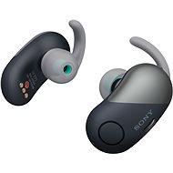 Sony WF-SP700N Schwarz - Kopfhörer mit Mikrofon