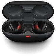 Sony True Wireless WF-SP800N, schwarz - Kabellose Kopfhörer