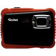 Rollei Sportsline 65 schwarz-orange + Hülle gratis - Digitalkamera
