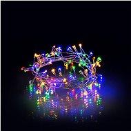 RETLUX RXL 277 Nano Lichterkette 100 LED 7,4 m - multicolor - mit Timer - Weihnachtskette