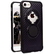 Rokform Crystal Carbon Black für iPhone 8/7/6/SE 2020, schwarz - Handyhülle
