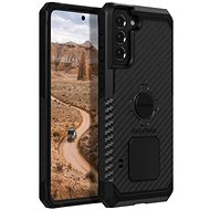 Handyhülle Rokform Cover Rugged für Samsung Galaxy S21+, schwarz - Kryt na mobil