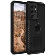 Handyhülle Rokform Cover Rugged für Samsung Galaxy S21 Ultra, schwarz - Kryt na mobil