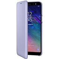 Samsung Galaxy A6+ Wallet Cover Lavendel - Handyhülle