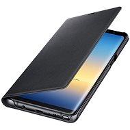 Handyhülle Samsung EF-NN950P LED View für Galaxy Note 8 - schwarz - Handyhülle