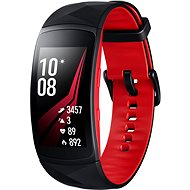 Samsung Gear Fit2 Pro Black Red - Smartwatch