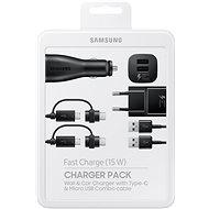 Samsung Ladegerät Pack Schwarz - Set
