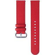 Samsung Braloba Essence Lederarmband Uhr Active 2 20mm rot - Armband