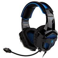 Sades B-Power schwarz/blau - Kopfhörer mit Mikrofon