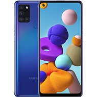 Samsung Galaxy A21s 128 GB - blau - Handy