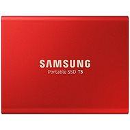Samsung SSD T5 500GB Rot - Externe Festplatte