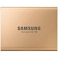 Samsung SSD T5 500GB Gold - Externe Festplatte