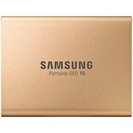 Samsung SSD T5 1 TB Gold - Externe Festplatte