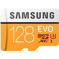 Samsung MicroSDXC 128 GB EVO UHS-I U3 + SD-Adapter - Speicherkarte