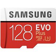 Samsung MicroSDXC 128 GB EVO Plus UHS-I U3 + SD-Adapter - Speicherkarte