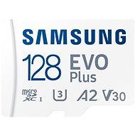 Samsung MicroSDXC 128 GB EVO Plus + SD Adapter - Speicherkarte