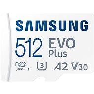 Samsung MicroSDXC 512GB EVO Plus + SD-Adapter - Speicherkarte