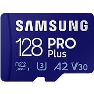 Samsung MicroSDXC 128 GB PRO Plus + SD Adapter - Speicherkarte