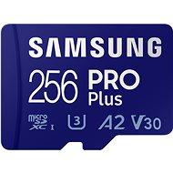 Samsung MicroSDXC 256GB PRO Plus + SD-Adapter - Speicherkarte