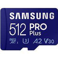 Samsung MicroSDXC 512GB PRO Plus + SD-Adapter - Speicherkarte