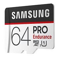 Samsung MicroSDXC 64GB PRO Ausdauer UHS-I U1 + SD Adapter - Speicherkarte