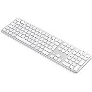 Satechi Aluminum Bluetooth Wireless Keyboard for Mac - Silver - US - Tastatur