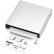 Satechi Aluminium Monitor Stand Hub for iMac - Silver - Monitorsockel
