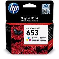 HP 3YM74A Nr. 653 farbig - Tintenpatrone