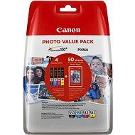 Canon CLI-551 Multipack + Fotopapier PP-201 - Tintenpatrone