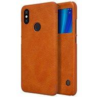 Nillkin Qin S-View für Xiaomi Mi A2 Braun