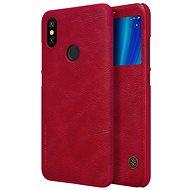 Nillkin Qin S-View für Xiaomi Mi A2 Rot