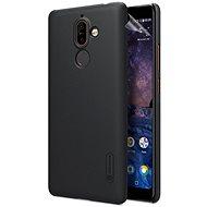 Nillkin Frosted für Nokia 7 Plus Schwarz - Silikon-Schutzhülle