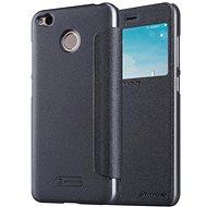 Nillkin Sparkle S-View Black für Xiaomi Redmi 4X - Handyhülle