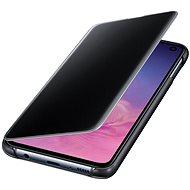 Samsung Galaxy S10e Clear View Cover Schwarz - Handyhülle