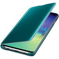 Samsung Galaxy S10 Durchsichtige Abdeckung grün - Handyhülle