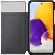 Samsung Flip Case S View für Galaxy A72 schwarz - Handyhülle
