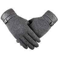 Handschuhe Lea Retro Grau
