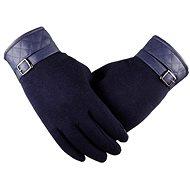 Handschuhe Lea Retro blau