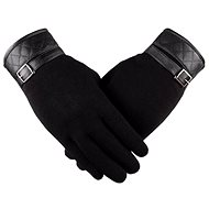 Handschuhe Handschuhe Lea Retro schwarz